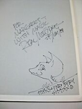 Rare Real Fantasies Book The Graphic Works of Musgrave Signed w Original Artwork
