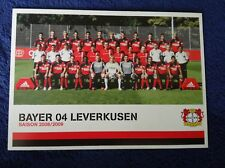 Mannschaftskarte Mannschaftsbild Bayer 04 Leverkusen 2008/09