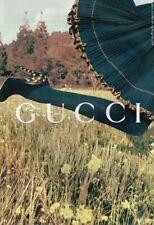 E- Publicité Advertising 2008 Les Chaussures escarpins Gucci