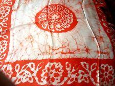 "Indian Handmade 100/% Pure Silk Batik Design 26/""x 26/"" carré foulard £ 14.50 Neuf avec étiquettes"