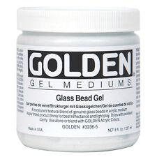Golden Acryl Med 8 Oz Glass Bead Gel