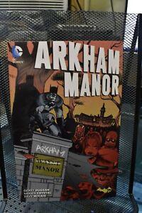 Batman Arkham Manor Complete DC TPB BRAND NEW Gerry Duggan