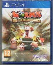 Worms Battlegrounds  'New & Sealed' FREE P&P  *PS4(Four)*