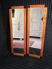 """Zwei Spiegel im """"Biedermeier Stil"""" um 1900 in massiv Kirschholz"""