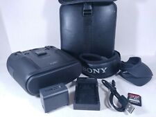 SONY DEV-50V Digital Recording Binoculars 2D 3D GPS Accessories Case Charger