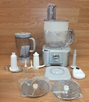 Gray & White Kenwood FP950 Multipro 600W 12 Cup Food Processor/ 6 Cup Blender