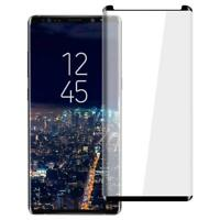 For Samsung Galaxy Note 9 Full Curved 3D Tempered Glass Screen Protector Black