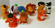 Little People Animals Touch and Feel Jungle Animals lot of 8