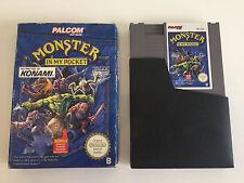 Monster in my pocket | neuf dans sa boîte + Coffret | NES PAL-B | NES Jeu | Konami palcom