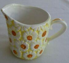 Vintage, 1965 Floral, Hand Painted Ceramic Creamer