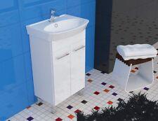 Badmöbel Set 50cm Waschbecken mit Unterschrank Hochglanz Waschtischunterschrank