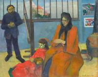 Fine Art Print on Canvas Giclee Schuffenecker Studio Paul Gauguin Reproduction S