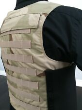 Bulletproof 3a Vest Concealable Made With Kevlar Body Armor Carrier Inserts