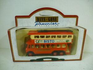 Lledo Days Gone Diecast Model : Bisto Trolley Bus - 041003