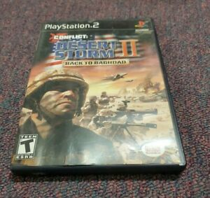 Conflic Desert Storm II Back to Baghdad (Sony PlayStation 2, 2003) PS2