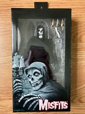 """NECA THE MISFITS THE FIEND CLOTHED 8"""" FIGURE BLACK & WHITE ROBE VARIANT NEW"""
