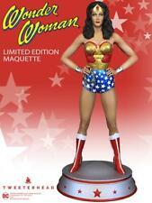 Wonder Woman Season One Maquette DC Statue Tweeterhead Lynda Carter - In Stock