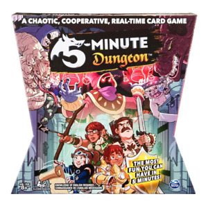 5 Minute Dungeon Card Game NEW