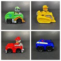 Paw Patrol Small Car Toy Spin Master TV Series Cartoon Kids Bundle Marshall