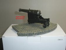 """KING AND COUNTRY CR15 CRIMEA RUSSIAN COASTAL 8"""" CANNON GUN TOY SOLDIER DIORAMA"""