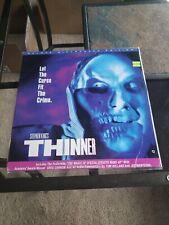 """Thinner / widescreen  12"""" Laserdisc  sticker / cover wear"""