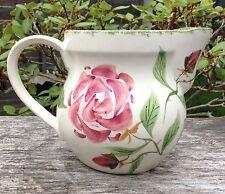 Suzanne Katkhunda Designed Country Gardens Pottery Spongewear Bourbon Rose Jug