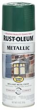 7252830 Stops Rust Metallic Spray Paint, 11 Oz , Racing Green