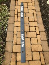 We Are Penn State Rustic Handmade Portable ShotSki - Great Tailgate Item or Gift