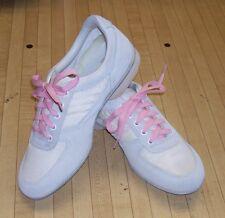 Size 9.5 Women's White/Pink High Skore White Bowling Shoes- RH/LH - FREE SHIP