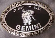 the Zodiac Gemini New Metal Belt Buckle Signs of