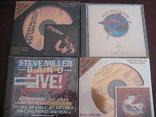 STEVE MILLER 2 DCC Sealed Gold 24K CDS FLY LIKE EAGLES BOOK OF DREAMS + BONUSES