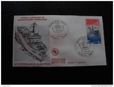 TAAF enveloppe 1er jour 2/7/84 - timbre stamp - yvert et tellier aerien n°84(cy8