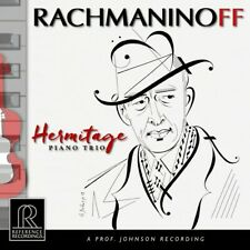 RACHMANINOFF HERMITAGE TRIO REFERENCE RECORDINGS RR-147 HYBRID SACD