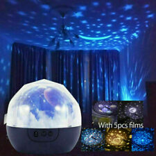 Kids Children Star Night Light Cosmic rotation LED Projector Rotating Lamp Gift