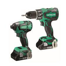 Hitachi Cordless Combi Drill 18v Brushless 1x 3.0ah Li-ion Battery Charger Case