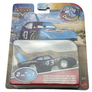NEW Disney Pixar Cars 2021 Color Changers DINOCO BLUE Strip Weathers THE KING