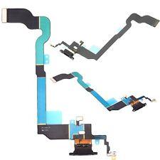 Para el iPhone Dock Conector Puerto De Carga Micrófono X negra de repuesto