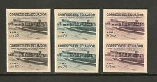 Ecuador #C416-C418 VF MNH Imperforated - 1963 60c to 5s Simon Bolivar Airport