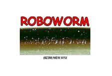 Roboworm CR-8Z3M New Ayu 4.5 Inch - BULK LOT 125 Soft Plastic Baits