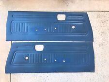 DOOR PANEL SET BLUE HONDA CIVIC CVCC SB1 RS 1200 73 74 75 76 77 78 79 1973-1979