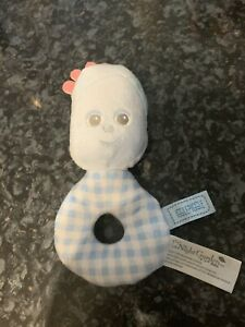In The Night Garden Iggle Piggle Babies Rattle Soft Plush