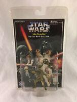 Vintage 1996 Star Wars Luke Skywalker Die Cast Metal Key Chain - New & Sealed