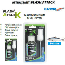 Attractant de peche Flashmer Flash Attack Spray Modèle Poisson
