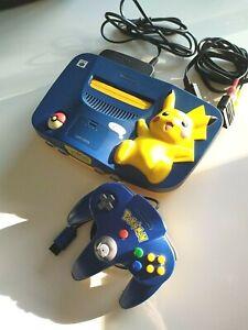 Console Nintendo 64 Pikachu Édition Pokemon