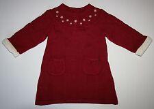 New Gymboree Snowflake Sweetie Sweater Dress 6-12 M NWT Holiday Snow Bird Santa