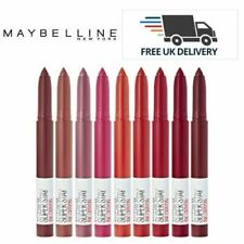 Maybelline Super Stay INK  Lip Crayon 12 Shades Pick Your NowSealed Brand New