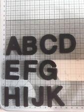 5 Die Cut Felt Capital Letters Handmade Hen Do, Birthday