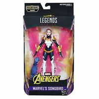 "Hasbro Marvel Legends Series 6"" Songbird Avengers Infinity War BAF Thanos"