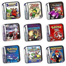 Juegos De Gba Gameboy Advance Caja Posavasos De Arte-Posavasos-De Madera - 4 por 3 Oferta