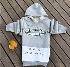 Anime My Neighbor Totoro Jumper Hoodie Studio Ghibli Spirit Cute Gray Hoody S (uk Size 6-8)